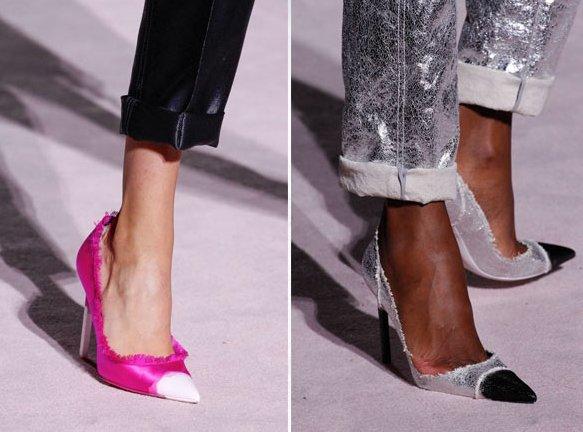 Какую обувь выбрать в новом сезоне весна/лето 2018: модные тренды.