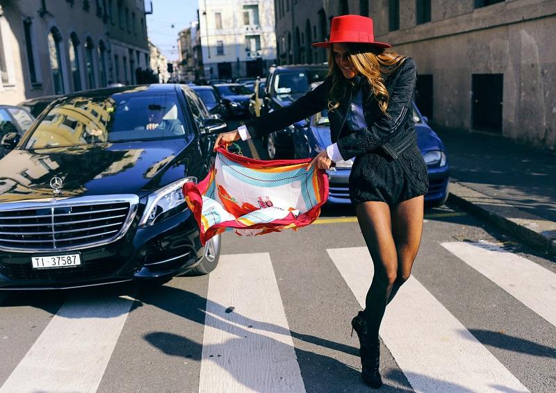 Уличная мода Милана сезона 2015