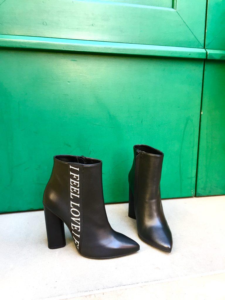 зимний ботинок